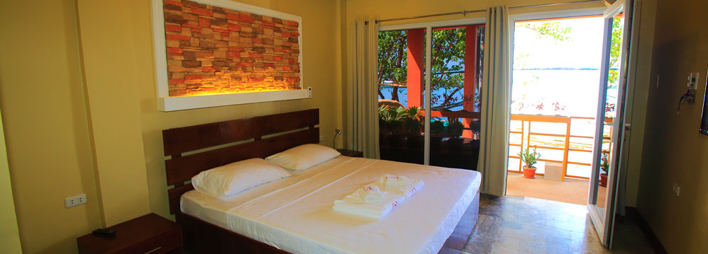 papa freds beach resort sabang room